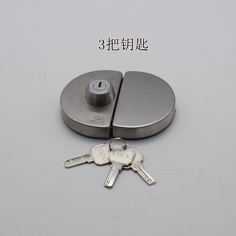 قفل الباب قفل قفل باب خشبي الإطار الفولاذ المقاوم للصدأ خزانة باب مزدوج زجاج الباب قفل قفل قفل مركزي