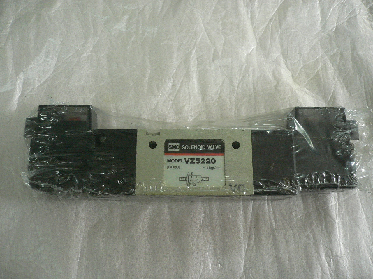 SMCVZ5220-5LZ-01 electronically controlled directional valve