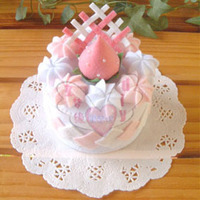 Nonwoven material cake package DIY non-woven material round cake series A simulation to do their own food