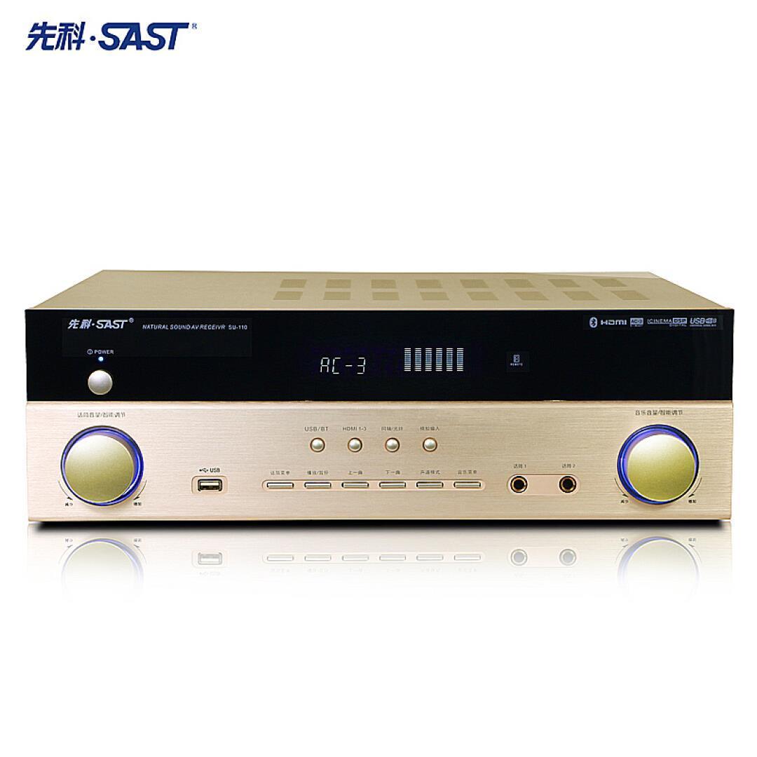 Xianke (SAST) Su-1 home theater amplificador de potência de 10, 5 Bluetooth HDMI para 4K de Alta