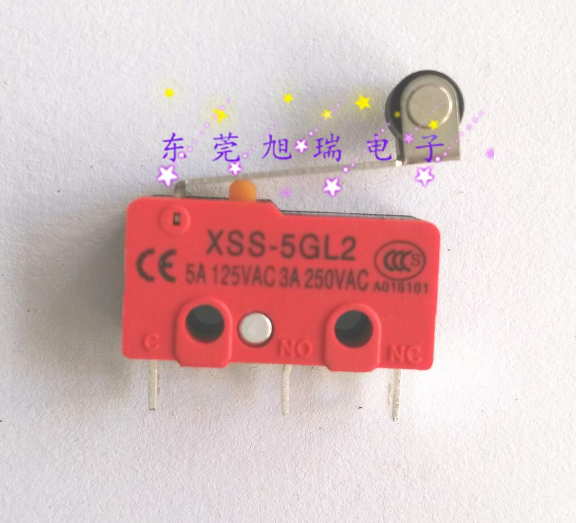 истински [XURUI су руй] микропревключвателя XSS-5GL2 сребърна контакт.