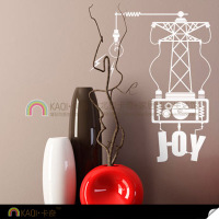 Self-adhesive stickers affixed DIY European style switch switch switch stickers stickers creative personality happiness generator