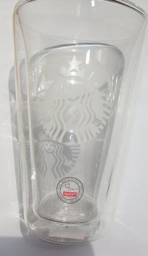 Shanghai spot United States direct Starbuck Starbucks out of print insulated glass cup coffee cup