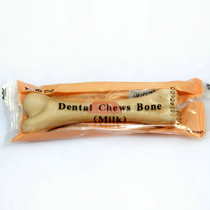 Sub Wo dog bone milk flavor 26G dog pet snacks molar teeth stick deodorant bone tooth bear Schnauzer