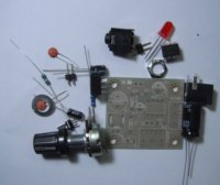 LM386 mini plate amplifier of low power 3~12V high performance parts kit technical training equipment