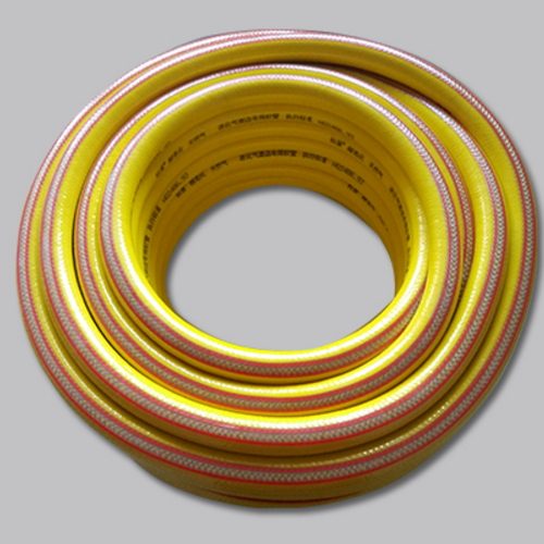 Liquefied gas pipe thickened explosion proof household abrasion resistant and corrosion resistant gas rubber belt steel wire gas pipe hose