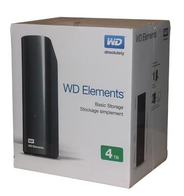 Des éléments de données Elements4T3.0 WD / USB3.03.5 ouest de lecteur de disque dur mobile