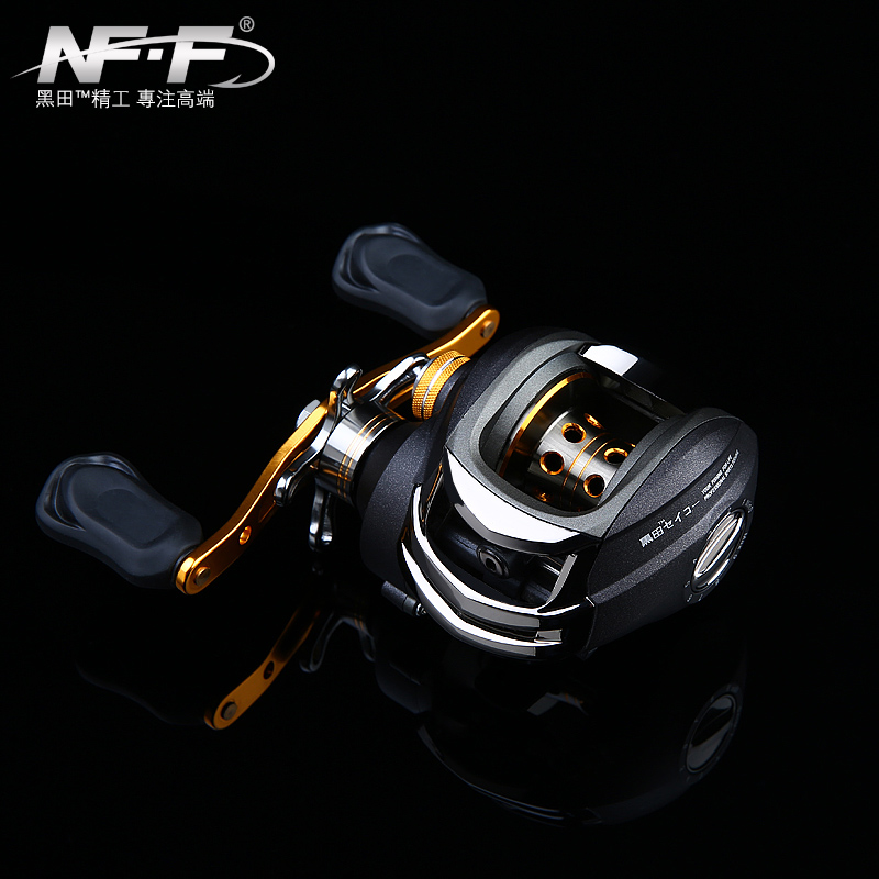 NFF drop right and left wheel road sub fishing reel magnetic brake anti fried line fishing 18 axis road Yalun grips