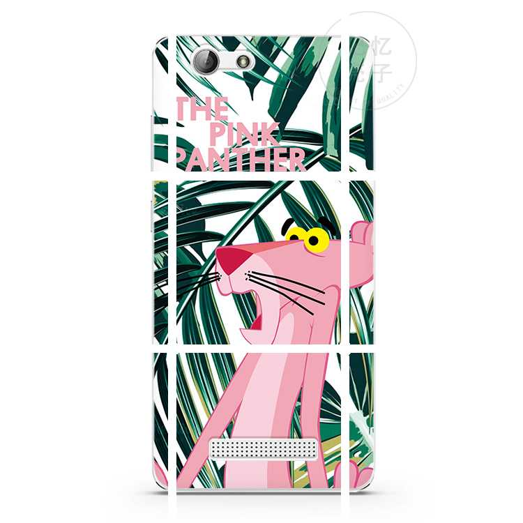 The pink panther Jin f100/f103/gn5001/3/m5/m6/s6/s7/s8/s9 mobile phone shell silicone sleeve