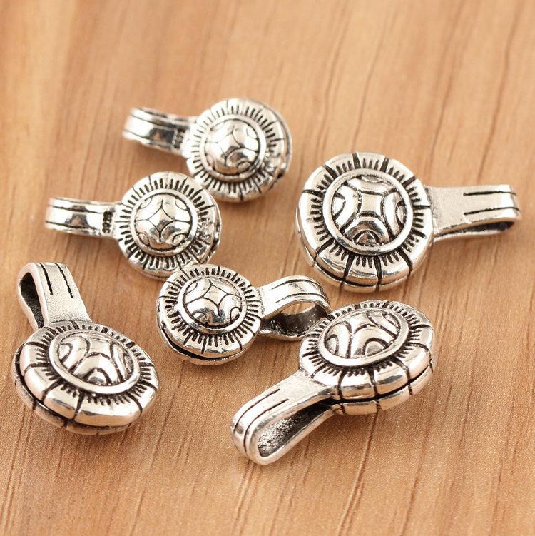 Joyas de plata pura Yintai DIY accesorios al por mayor el brazalete de cuentas manual de Rosario contra San S925 diamante budista