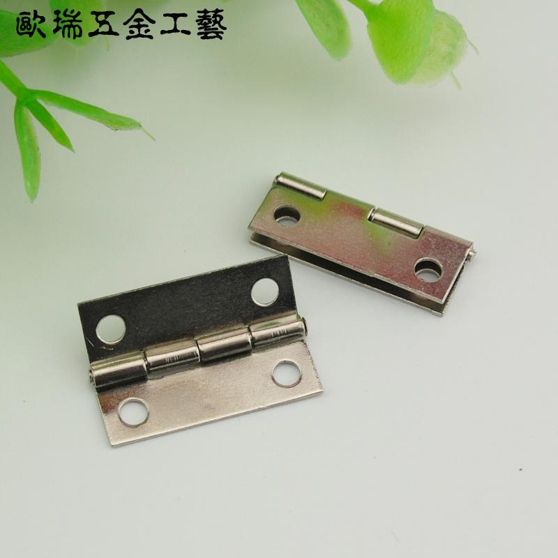 Pequeñas mariposas pequeñas bisagras bisagras antiguo armario de accesorios de hardware de encaje de bisagras de madera de 180 grados