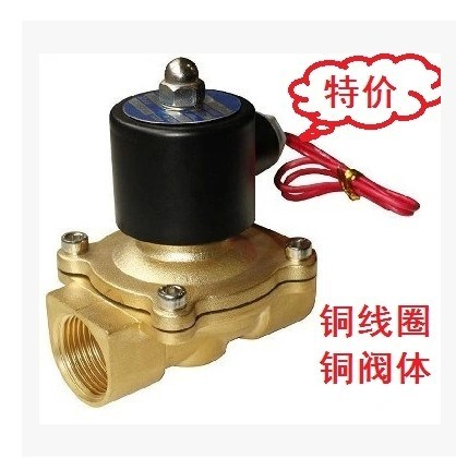 Normally closed 2W025-08 water valve 040-10 brass 160-15 solenoid valve 200-20 direct acting 250-25-35