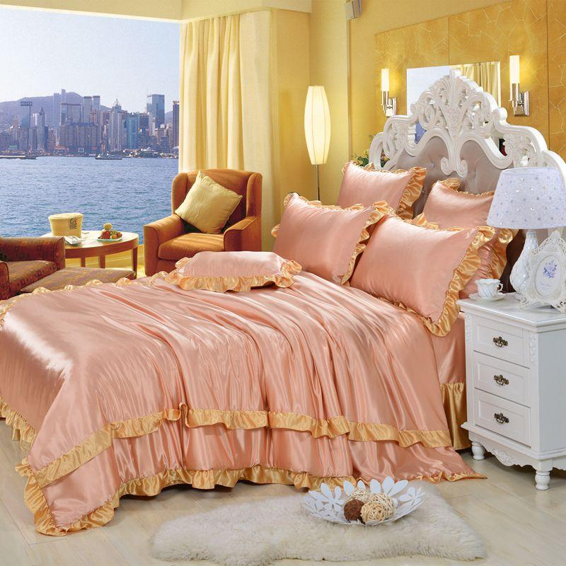 1.8 Korean ice four sets of summer 4 sets of air conditioning simulation pure Tencel bedding bedding Princess
