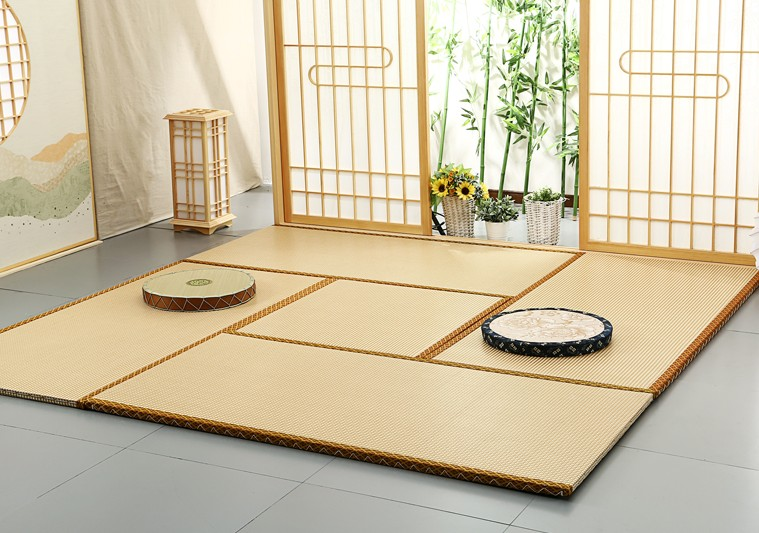 Japanese tatami mats on the floor Home Furnishing mattress anti wet warm bedroom decoration straw mat Tata encryption