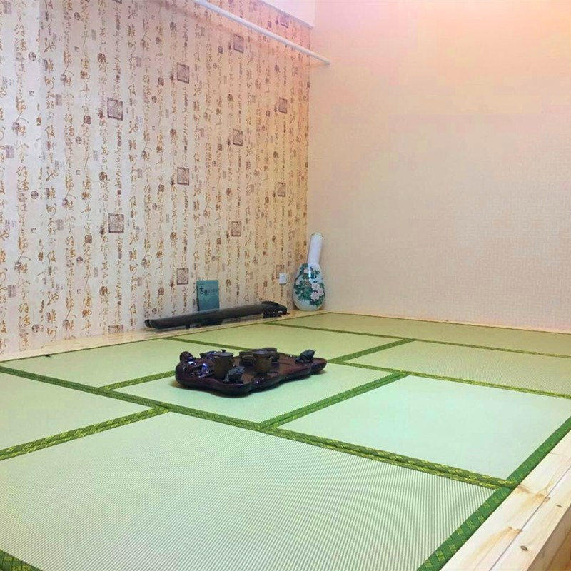 Shenglong custom mattress coir mat tatami matting mat with Japanese m bedroom floor mat