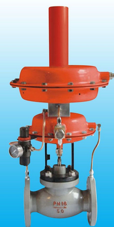 Self regulating pressure regulating valve, liquefied gas pressure regulating valve, natural gas pressure regulating valve