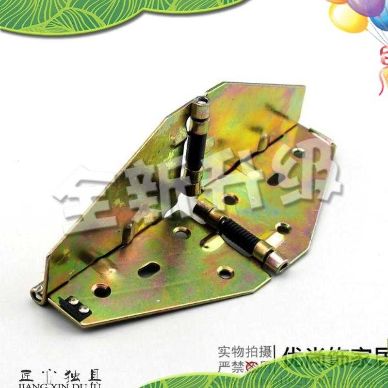Worth the spring table flap hinge hinge folding iron butterfly board inch round thick ordinary hinge