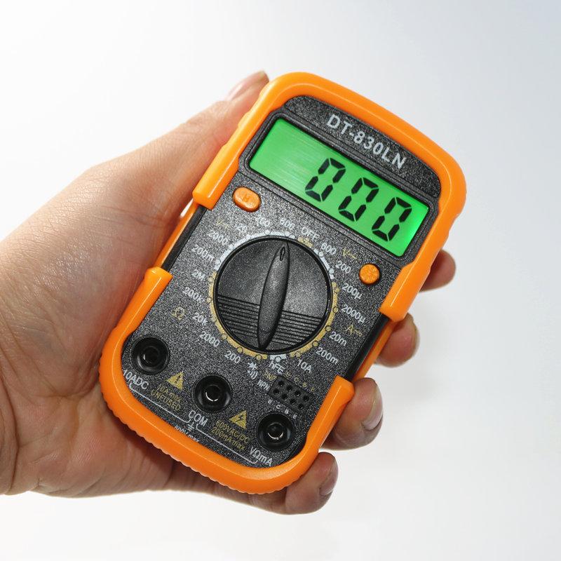 إذاعة صوت بلوتوث الذكية عالية الدقة مقياس رقمي متعدد مسجل القيمة الحقيقية الفعلية
