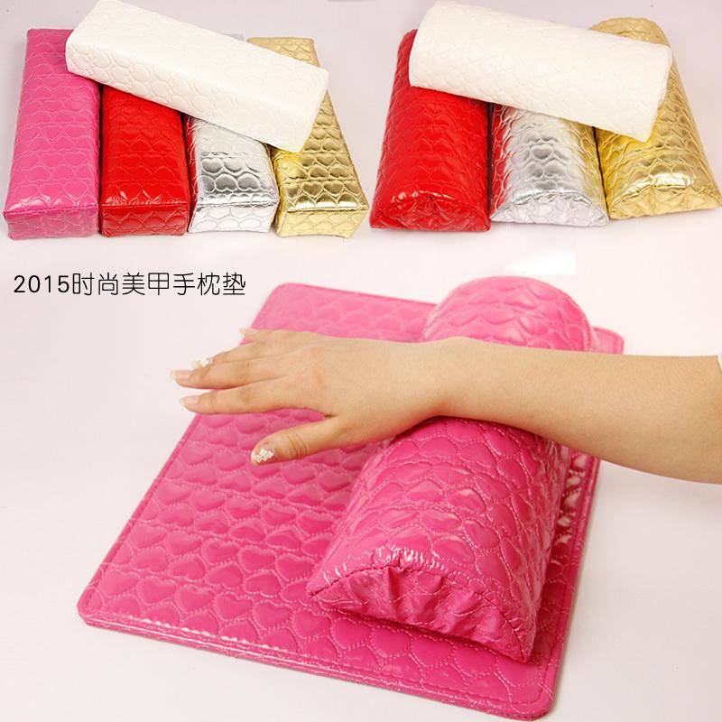 Nail hand pillow, hand pad, full salon, love pattern, cortical waterproof stick drilling tools, hand pillow set