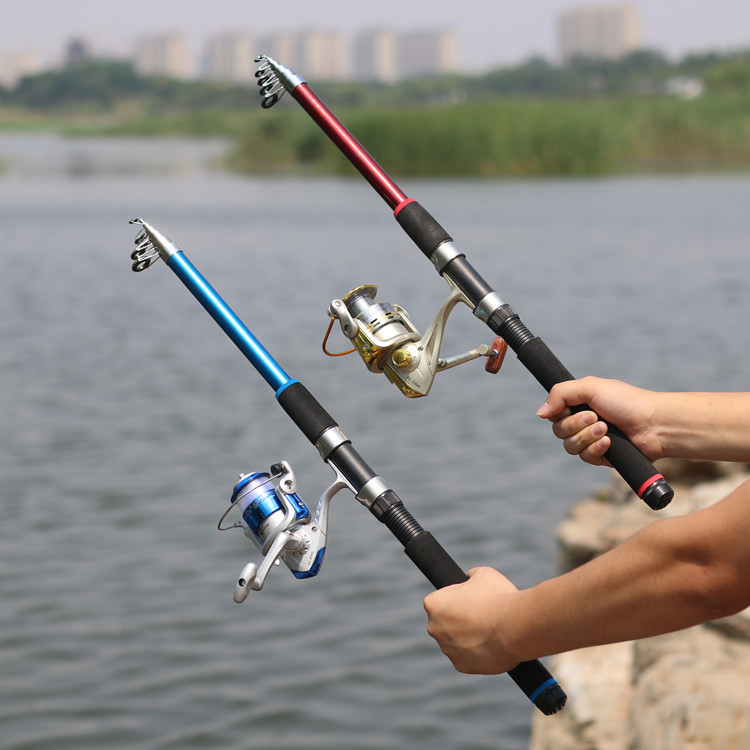 Fishing rod fishing rod fishing rod set road and pole special offer whole set of fishing rod fishing rod from the long shot rod
