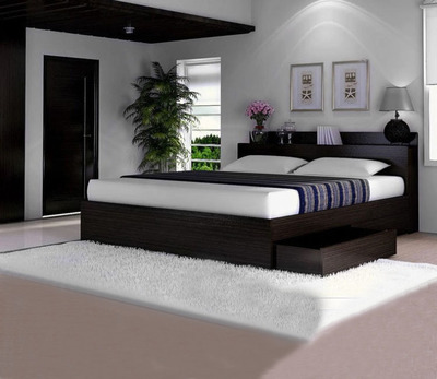 The new Japanese Korean type bed storage bed with drawer tatami 1.5/1.8 bed can be customized