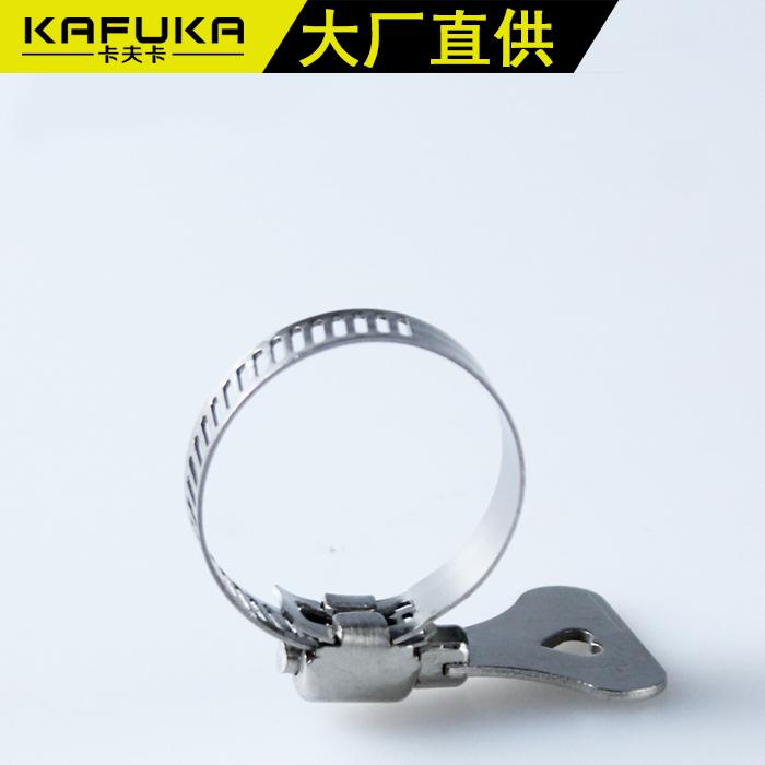 Support de tuyau en acier inoxydable 304 support fixe le collier de fixation de tuyau de support de tuyau de support de pince de serrage de tuyaux en PVC