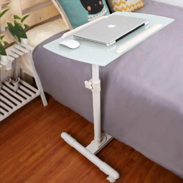虎爸爸懒人笔记本电脑桌床上用电脑桌简约折叠移动升降床边桌