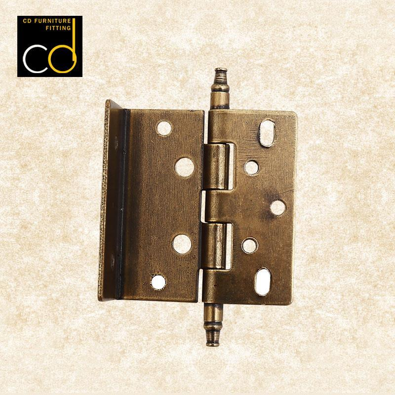 Super generation European antique ancient bronze Yinqing hardware hinge free open doors accessories 90 bad mute flat open hinge