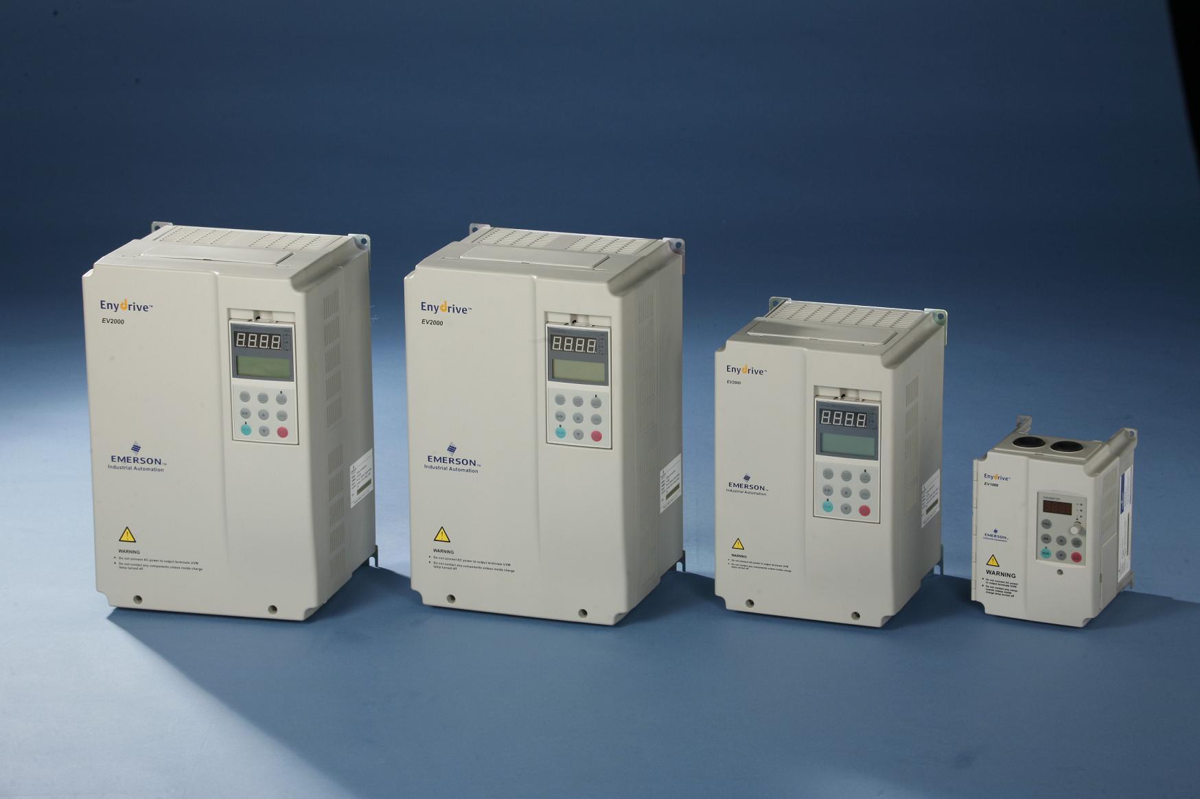 Drei 380V Emerson wechselrichter EV3000-4T0220G22KW