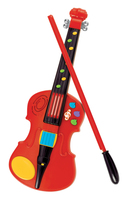 Magic violin (red) Teddy violin Children Learning Puzzle gift of music