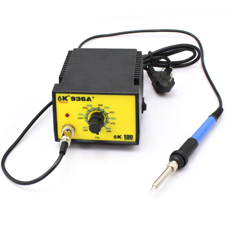 Package thermostat adjustable temperature welding table 936 lead-free soldering iron table 60W repair welding tool -936A