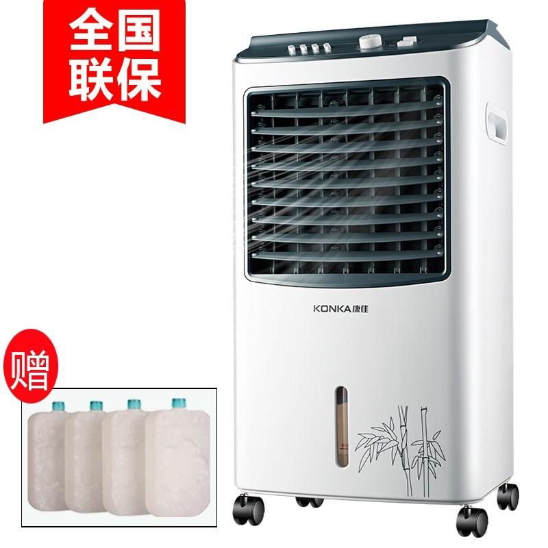 Air conditioning fan household cooling and heating dual-use cold air mechanism, air conditioning fan refrigerator, mobile small air conditioning fan