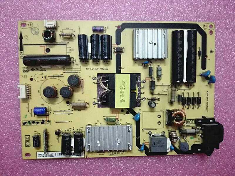 High voltage backlight driver motherboard boost circuit for TCLL48F3700A48 inch LCD TV power supply