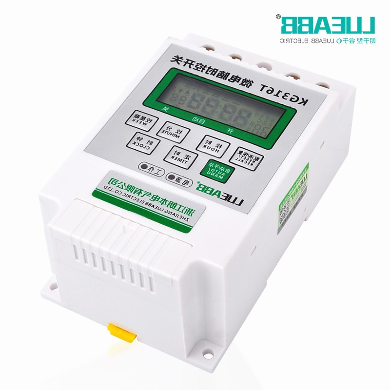Global purchase Lang microcomputer time control switch, KG316T electronic timer, street lamp time controller timing