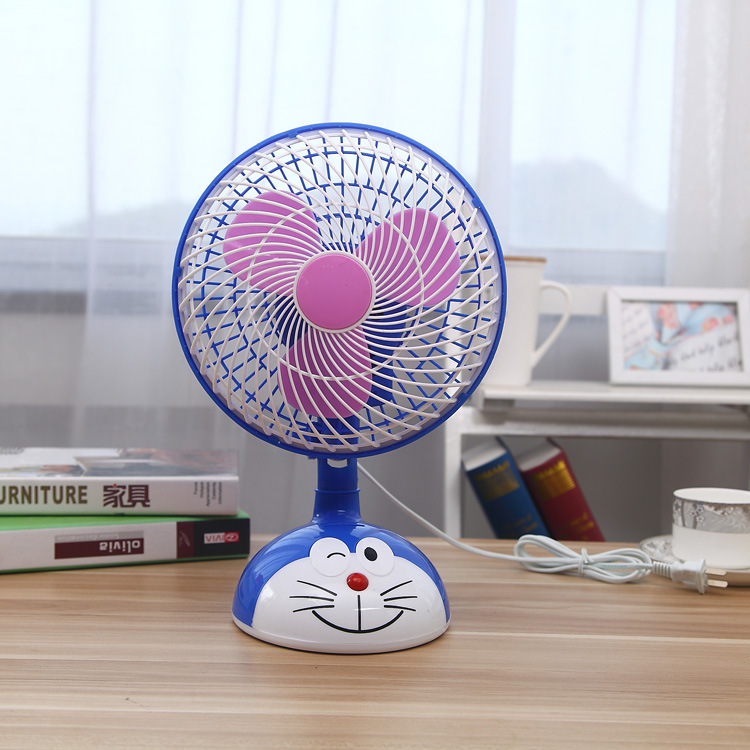 Shake head, small electric fan, plug in electric mini fan, student dormitory, small fan, office desktop home