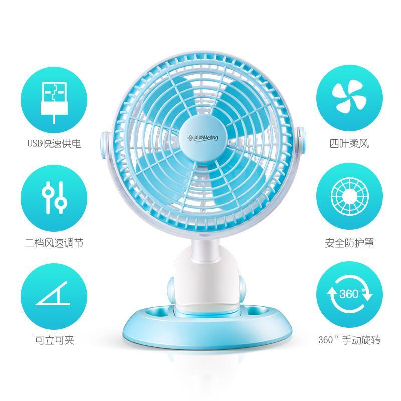 La chiavetta USB di ventilatore a bordo di SV Grandi camion più Grande di energia eolica di refrigerazione Muto in macchina con Mini - Fan.