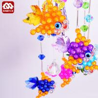 DIY handmade beads, wind chimes, pendants, material packages, acrylic beads weaving, household jewelry, handicrafts production
