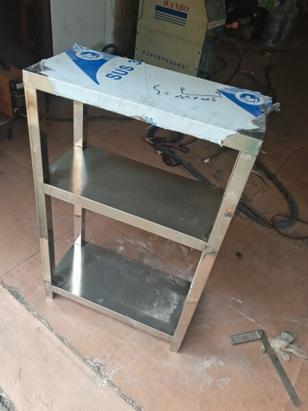 кухня, микроволновая печь, стеллажи 3 слоя полки хранения рамок посадку печь рамы из нержавеющей стали шельфа обычай приветствовать