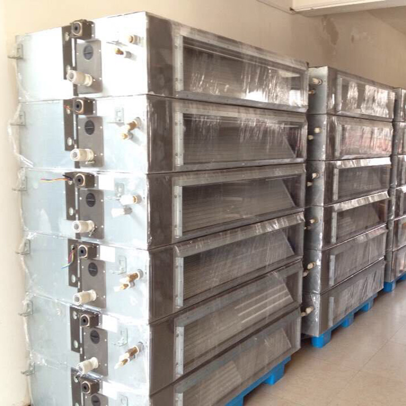 Shanghai Daikin second-hand 10 horse 16P variable frequency VRF air duct machine suction machine embedded hidden type central air conditioner