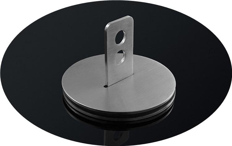 ruostumattomasta teräksestä valmistettujen vapaa aukko lasi lukko oveen lukko oveen roikkumaan. luettelo sisältää post hemming oveen