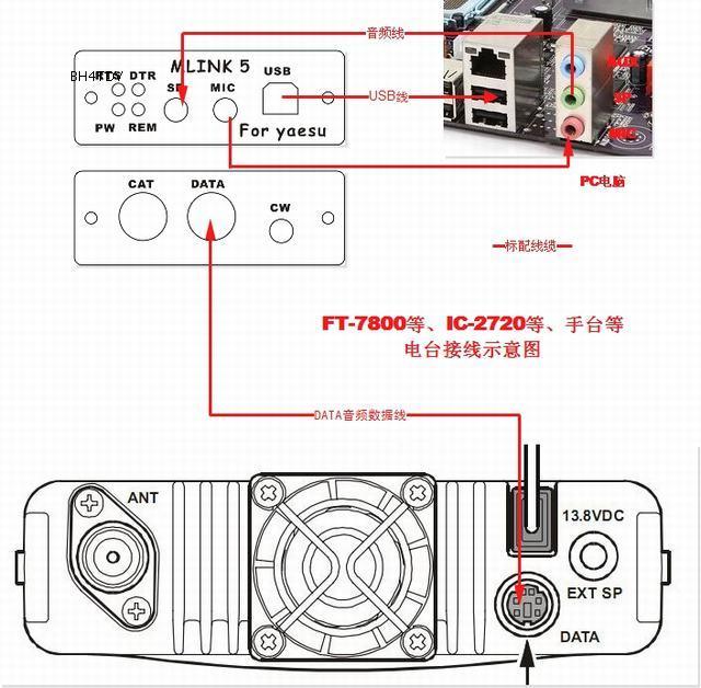 usb pc linker adapter for yaesu ft  ft  897 icom