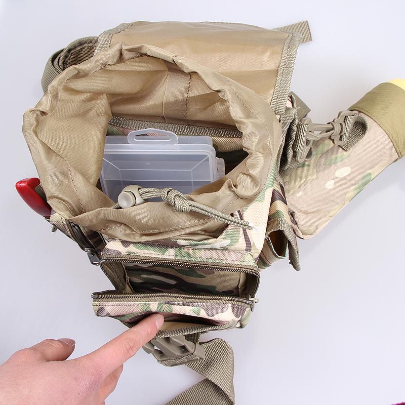 Jäger - Fisch multifunktions - Paket für Paket wasserdicht - Taschen BEINE umhängetasche die tasche stecken die post