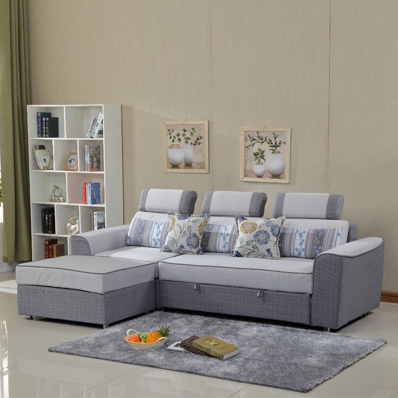 απλή συνδυασμός μικρού μεγέθους Mikko πτυσσόμενο καναπέ 2.6 αποθήκευσης στο σαλόνι πολυλειτουργική καναπέ - κρεβάτι να μπορούν να πλένονται