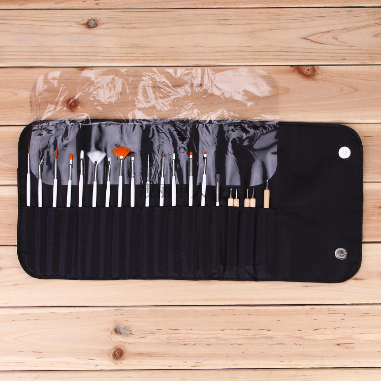Manicure brush painted Nail Kit gradient pull hook flower drill pen phototherapy beginners 20 full set