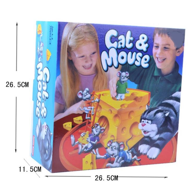 τα επιτραπέζια παιχνίδια το ποντίκι και η γάτα κέικ τυρί παιχνίδι συγγένειας προσχολική παζλ αλληλεπίδραση