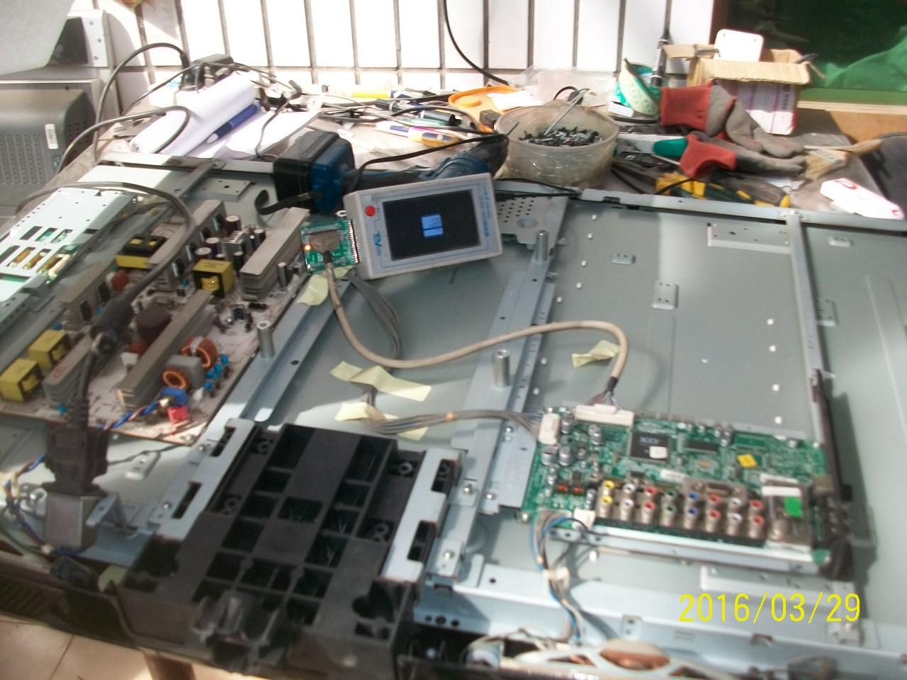 LG LCD - TV 42LG31FR-TA EAY4050520EAX40157602/0 Power Platte