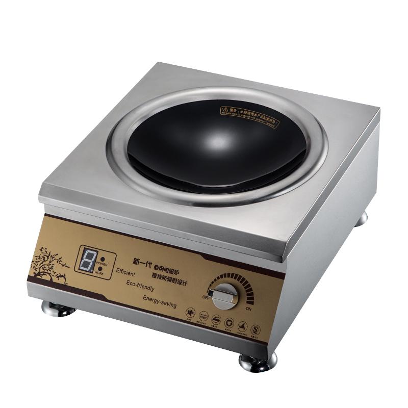 豪达 عالية الطاقة التجارية طباخ التعريفي طباخ كهربائي عالية الطاقة الكهرومغناطيسية الكهرومغناطيسية موقد المنزلية مقلي وعاء مقعر