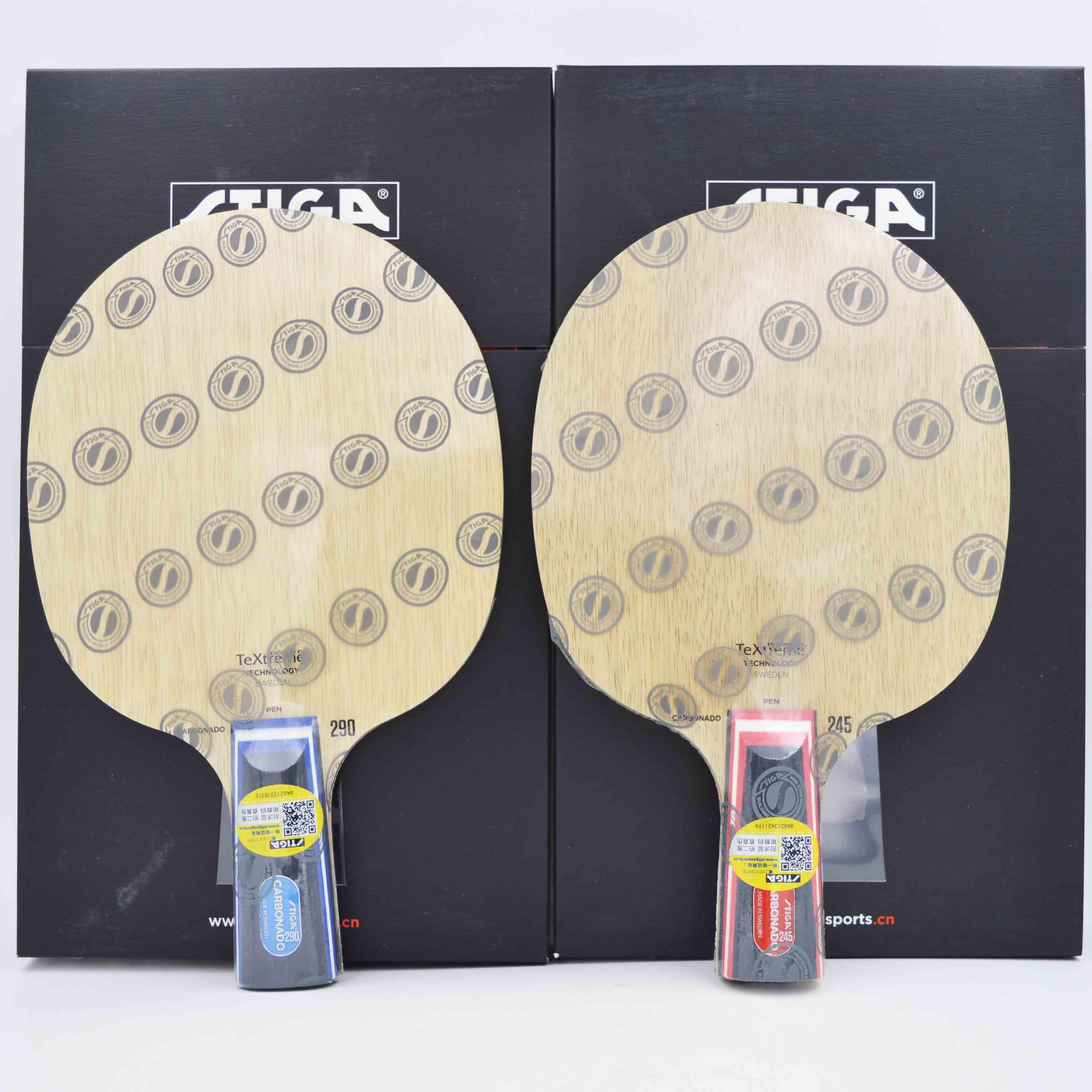「あ海卓球」STIGAヘイスティーカードCARBONADO炭素290 / 245卓球ラケット基板