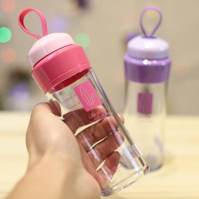 优之小水杯便携可爱儿童水壶防漏耐摔创意迷你男女学生塑料随手杯