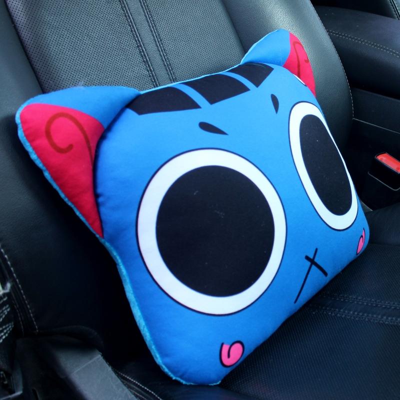 自動車のヘッドレストクッション車用護頚枕漫画の車載車内で可愛い創意韓国車枕車用品